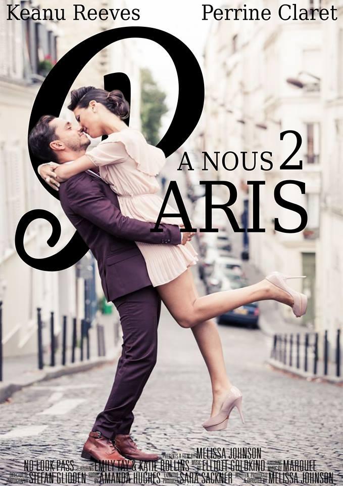 Affiche de film romantique par Perrine