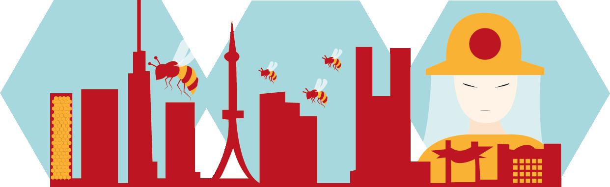 Logo Abeilles de Tokyo