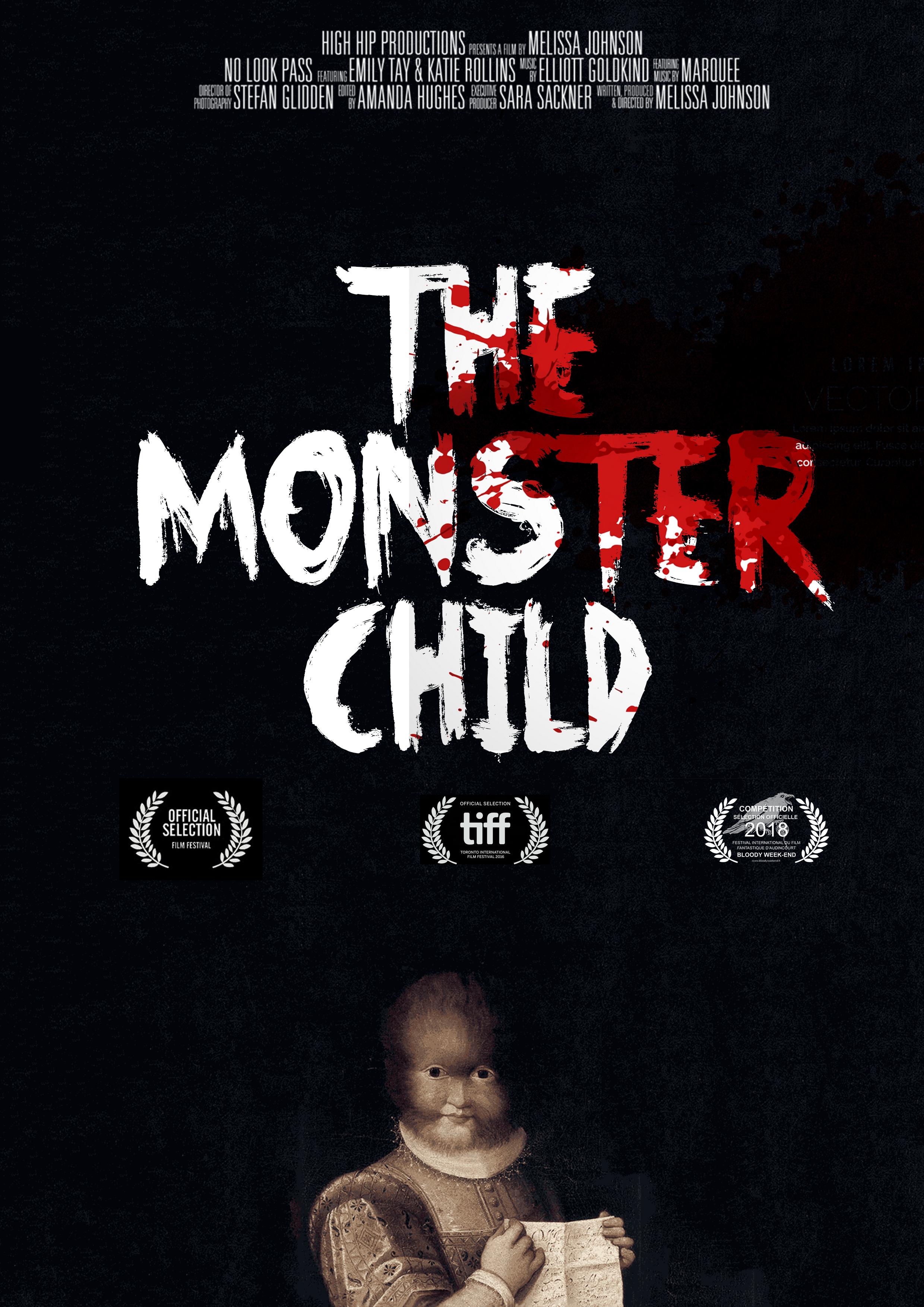Affiche de film d'horreur par Stéphanie