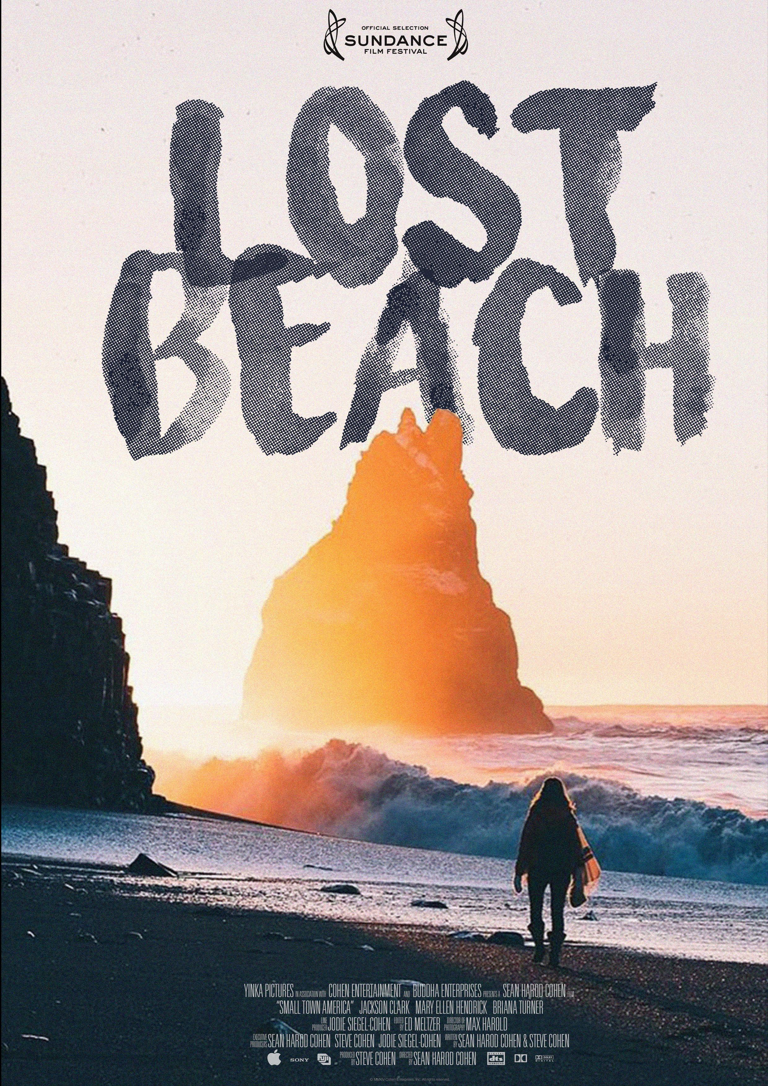 Affiche de film homme sur la plage par Florian