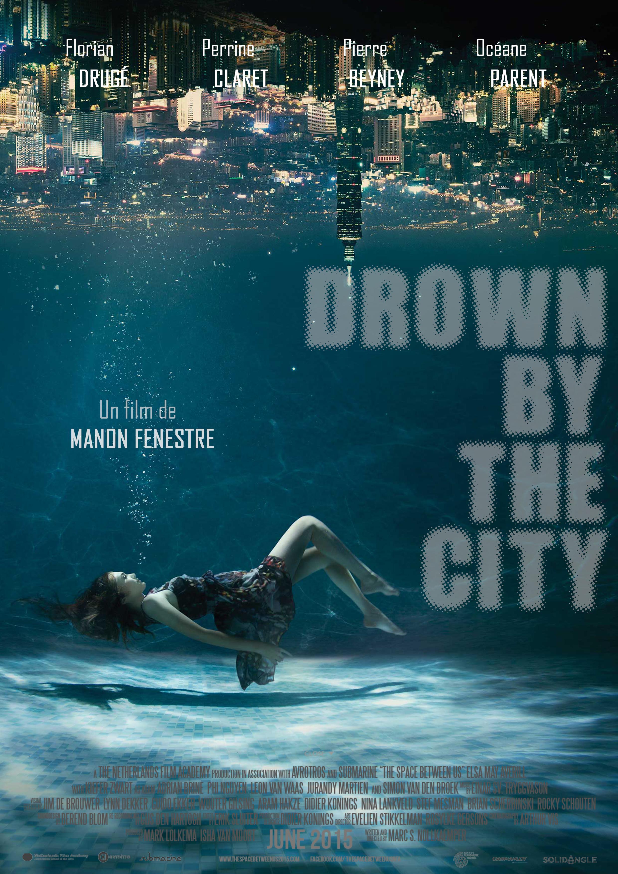 Affiche de film fille sous l'eau par Manon