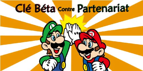 Mario et Luigi se tapent dans la main