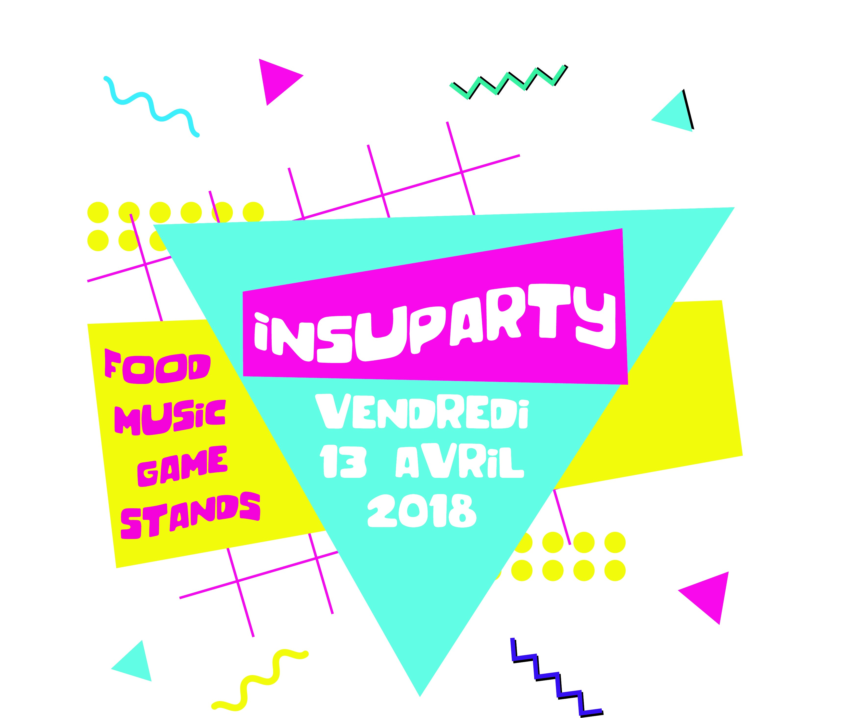 Logo Insup Party 2