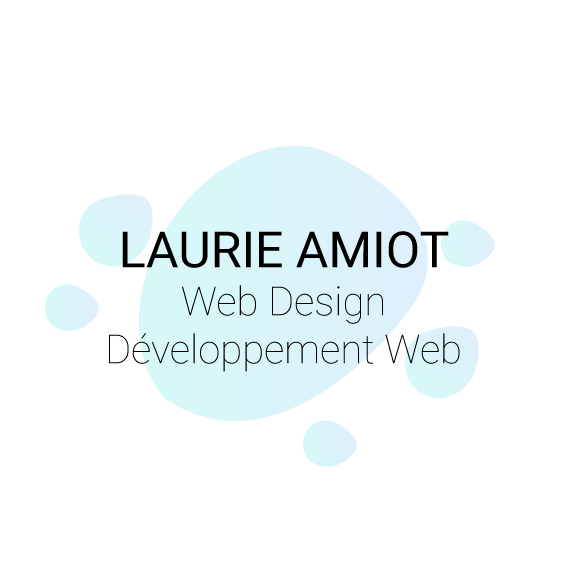 Laurie Amiot, intervenante en Web Design & développement web