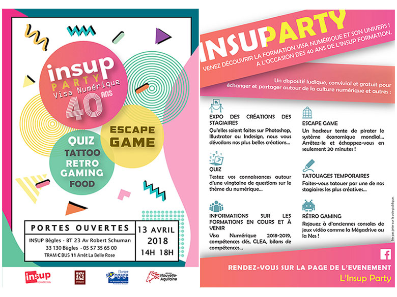 Flyer Insup Party